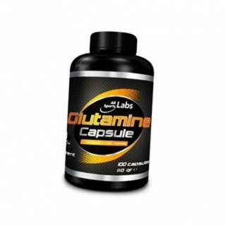 Glutamine capsule 100 caps (3300 mg/serving)