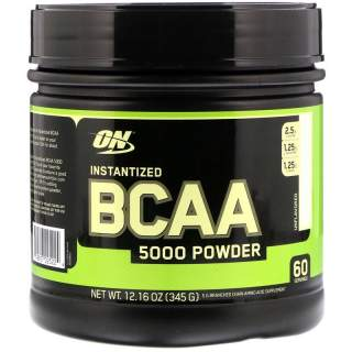 Bcaa 5000 Powder Unflavored (60 serv) 345 gr