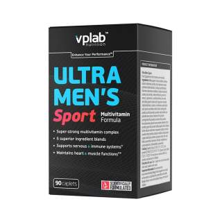 Ultra Mens Sport Multivitamin Formula 90 caps