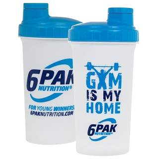 Shaker white Gym Is My Home 700 ml