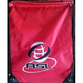 Gym bag Red ASL