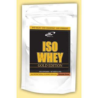Iso Whey Gold Edition 240 gr